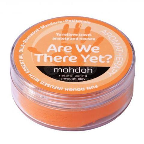 MohDoh Kids Aromatherapy Play Dough - Orange 'Are We There Yet?'