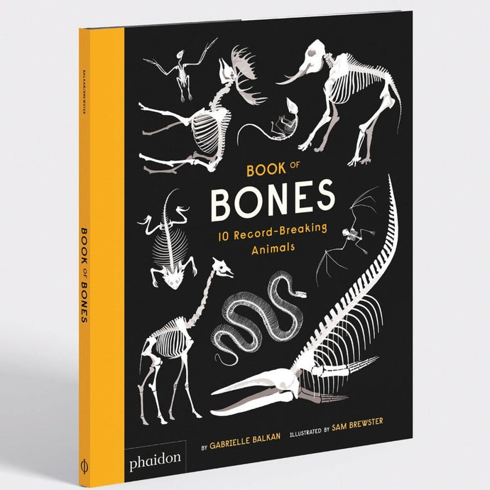 Book of Bones: 10 Record-Breaking Animals - Children's Picture Book