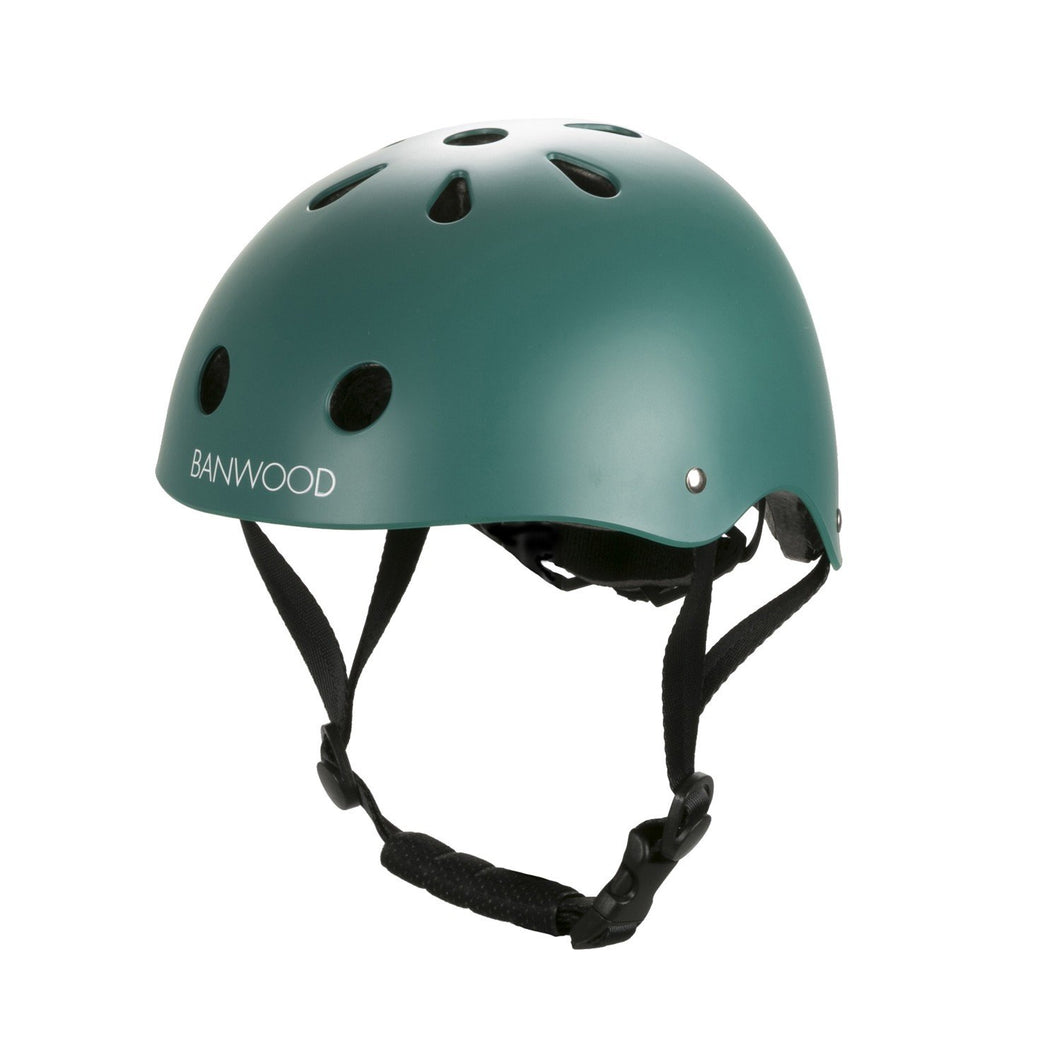 Banwood Classic Junior Bike Helmet - Matte Green