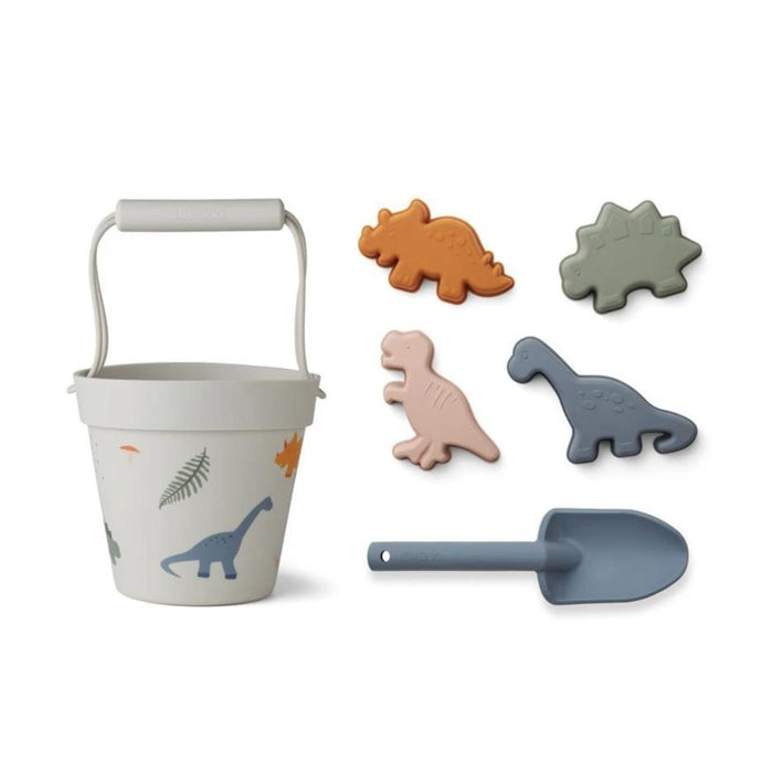 Liewood Dante Silicone Beach set - Dino Mix