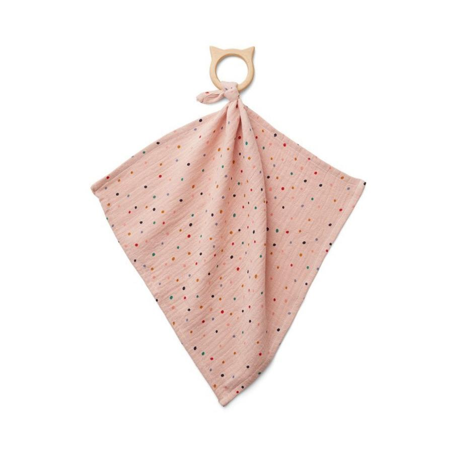 Liewood Dines Teether Cuddle Cloth - Confetti Mix