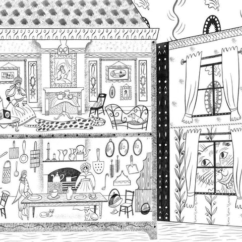 The Dolls' House Colouring Book | Soren's House