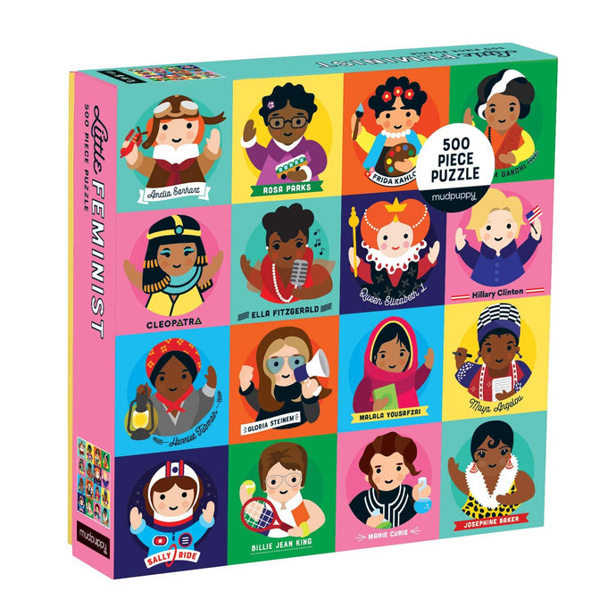 Little Feminist 500 Piece Family Jigsaw Puzzle