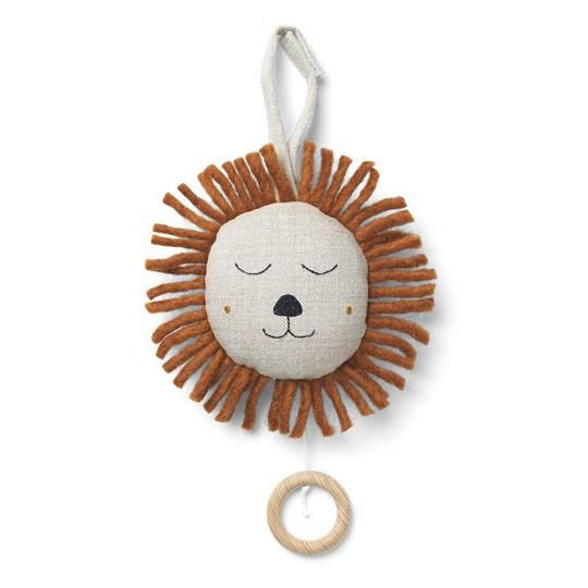 Ferm Living Lion Music Mobile - Natural