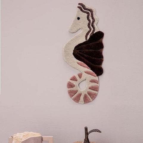 Ferm Living Tufted Wall/Floor Deco - Seahorse