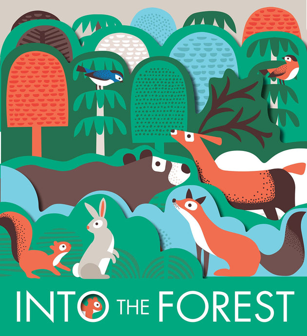 Into The Forest - Children's Board Book