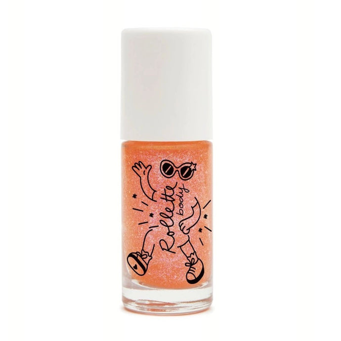 Nailmatic Natural Body Glitter Rollette - Peach
