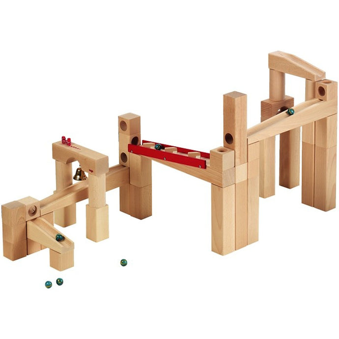 HABA Large Basic Wooden Marble Run Set