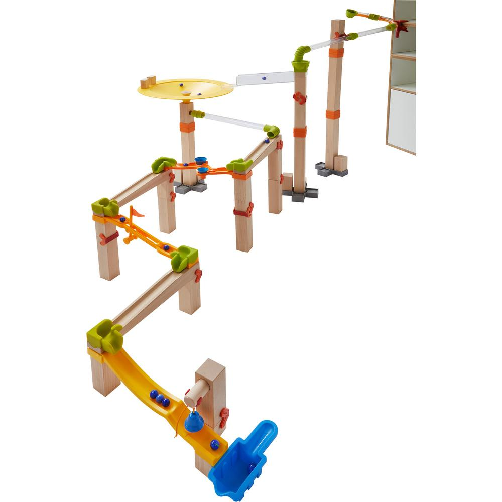 HABA Wooden Marble Run Master Construction Set