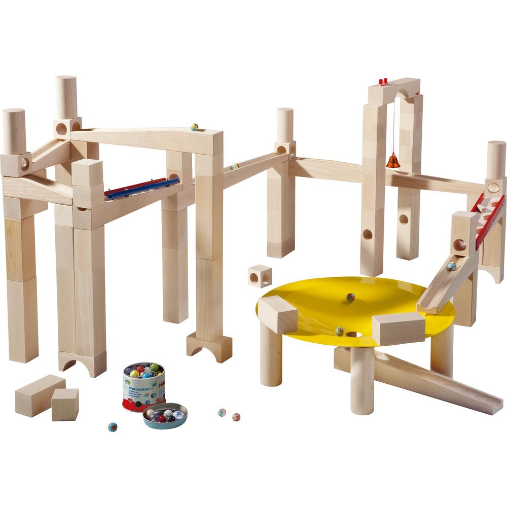HABA Master Building Wooden Marble Run Set
