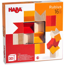HABA 3D Wooden Arranging Game - Rubius