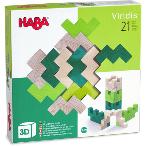 HABA 3D Arranging Game - Viridis