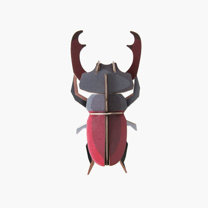Studio Roof 3D Model Wall Decor - Stag Beetle