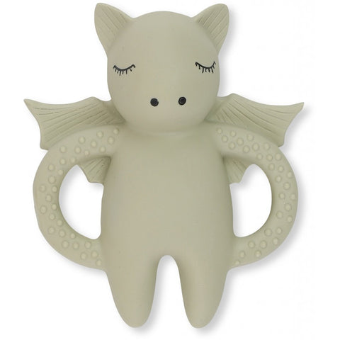 Konges Slojd Natural Rubber Teether - Bat
