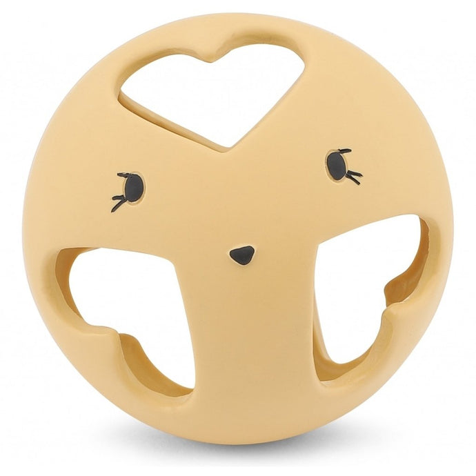 Konges Slojd Natural Rubber Baby Teething Ball - Sahara