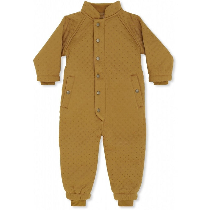 Konges Slojd Thermo Onesie - Dark Honey
