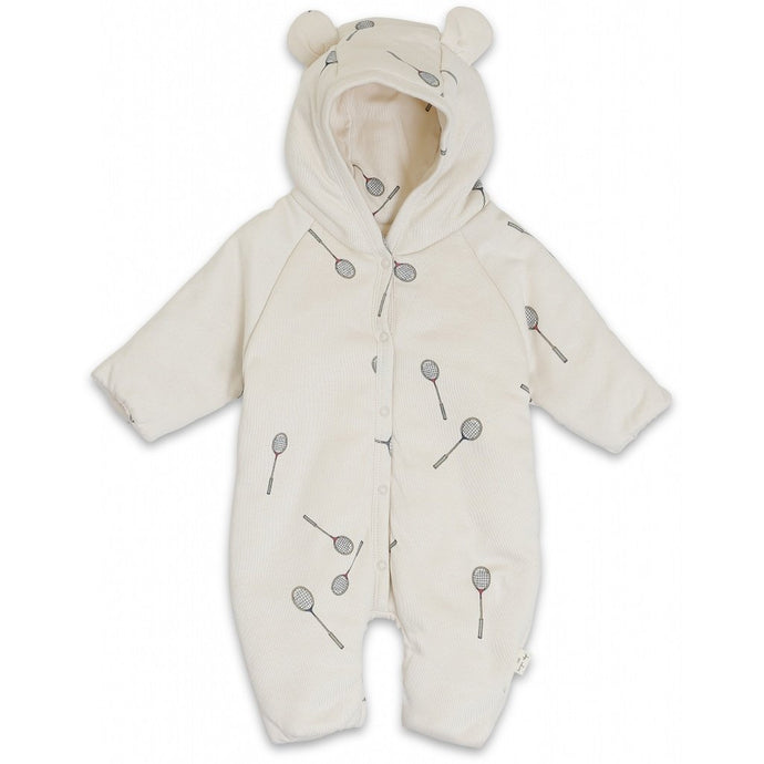 Konges Slojd Newborn Hooded Onesie - Smash
