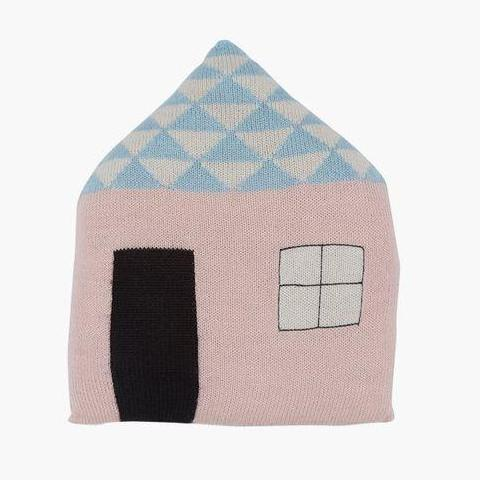 Baby & Children's Design Cushion - Favourite Place in Blush by LuckyBoySunday