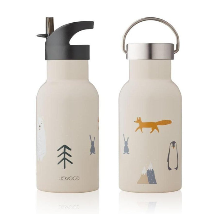 Liewood Anker Steel Water Bottle - Arctic Mix