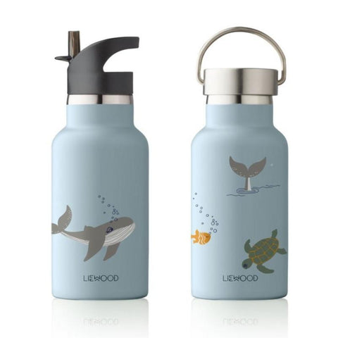 Liewood Anker Steel Water Bottle - Sea Creature Mix