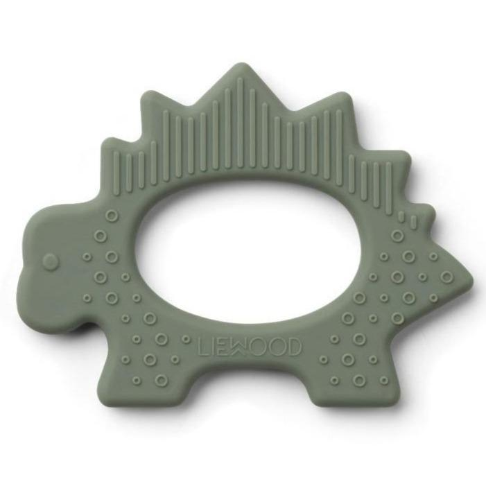 Liewood Gemma Teether - Dino Faune Green