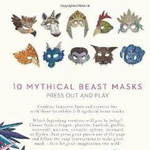 Mythical Beasts Masks: Ten 3D Beast Masks To Make | Soren's House