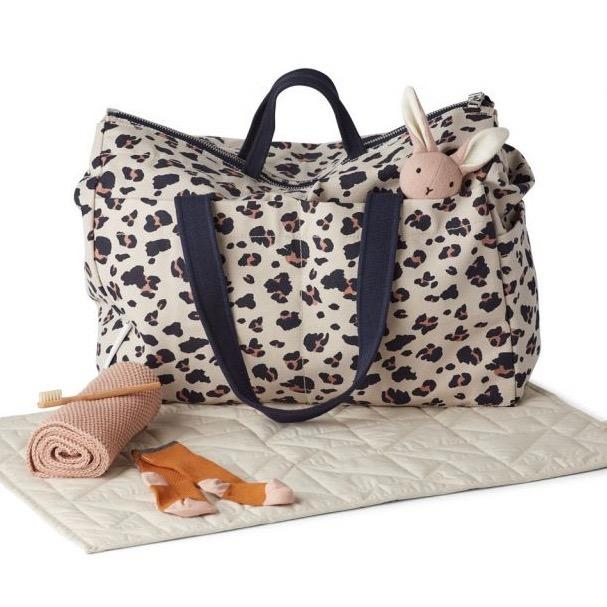 Liewood Melvin Organic Changing Bag - Leo Beige Beauty