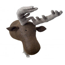 Fiona Walker Moose Felt Animal Wall Head - Large