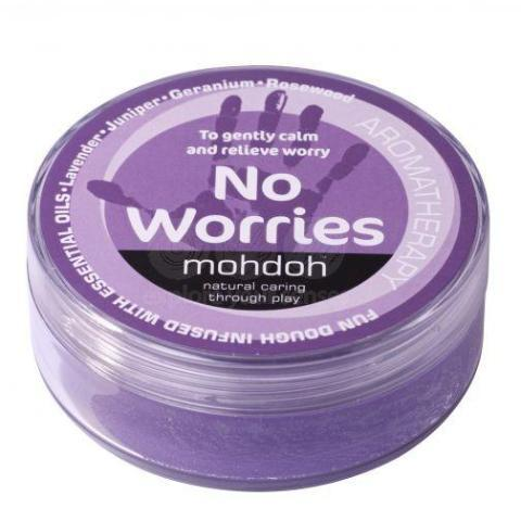 MohDoh Kids Aromatherapy Play Dough - Purple 'No Worries'