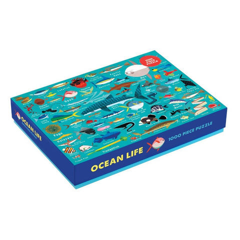 Ocean Life - 1000pc Family Jigsaw Puzzle