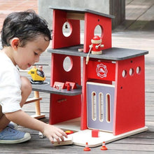 Plan Toys Wooden Fire Station | Soren's House