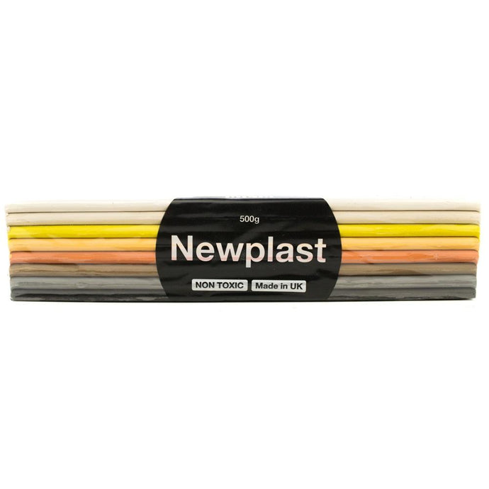 Newplast Modelling Clay 500g - Multicultural