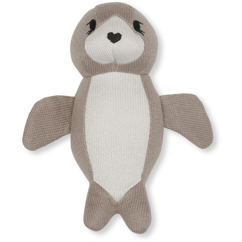 Konges Slojd Mini Seal Soft Rattle Toy