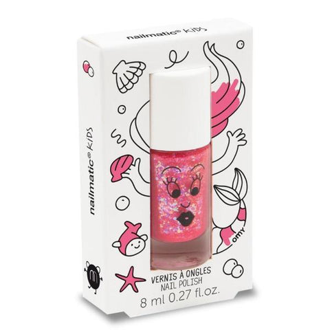 Nailmatic Wash Off Nail Varnish - Sissi (Glitter Pink)