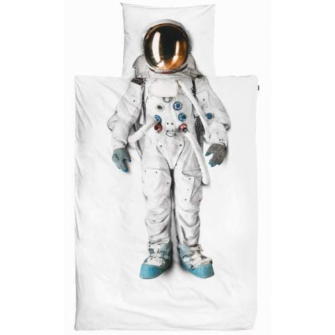 Snurk Astronaut Kid's Single Duvet Cover & Pillowcase | Soren's House