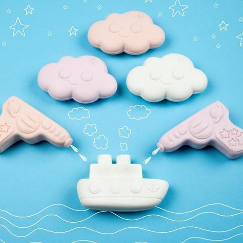 Nailmatic Organic Kid's Soap - Raspberry Boat | Soren's House