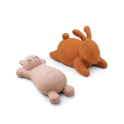 Liewood Vikky Bath Toys - Cat Rose (2 Pack)