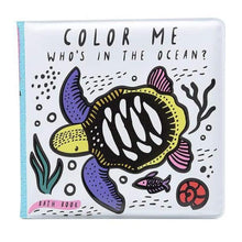 Wee Gallery Colour Me: Who's in the Ocean? - Bath Book | Soren's House