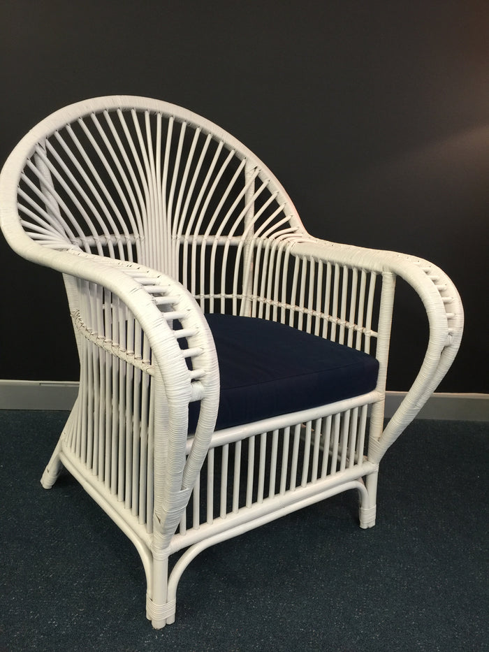Harlow Armchair White