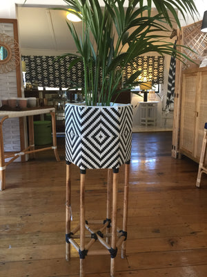 Plant Stand Hexagonal Single