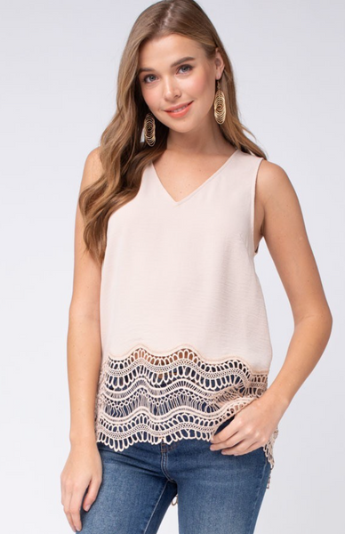 Carefree Crochet Top