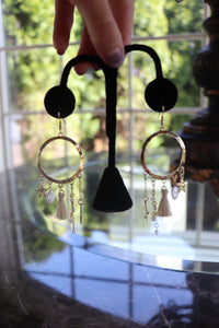 Dream Catcher Hoop Earrings
