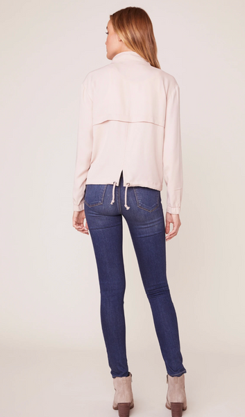 Parchment Pink Zip-Up