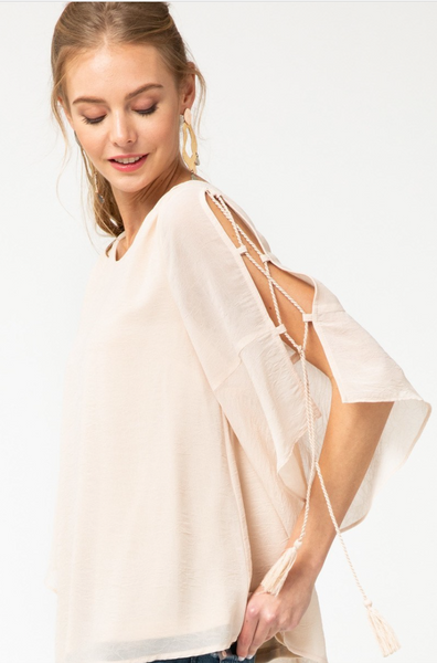 Willow Cream Blouse