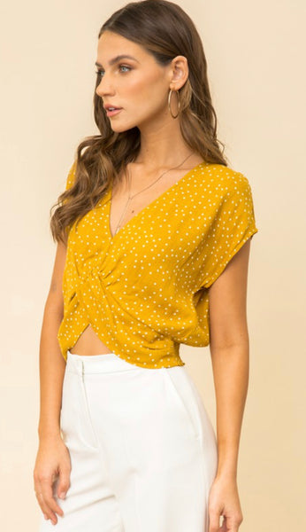 Yellow Spotted Crop
