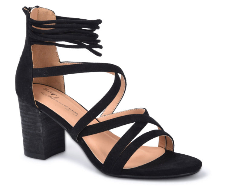 Kim Block Heel - Black