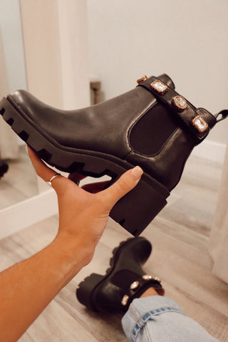 Studded Chelsea Boot