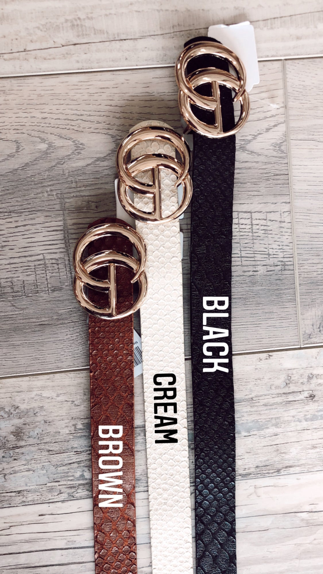 Medium Boujee Belt