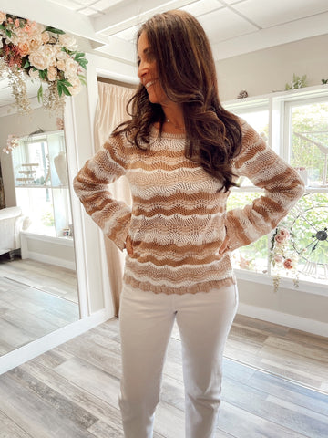 Mocha Latte Summer Sweater