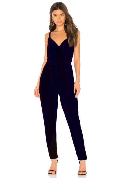 Cameo Ink Velvet Jumpsuit